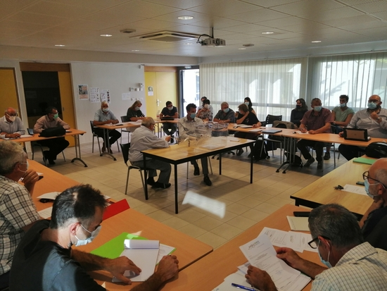 Installation du nouveau Comité Syndical du SMBRJ