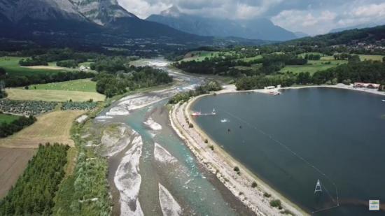 Le Drac amont en Hautes Alpes